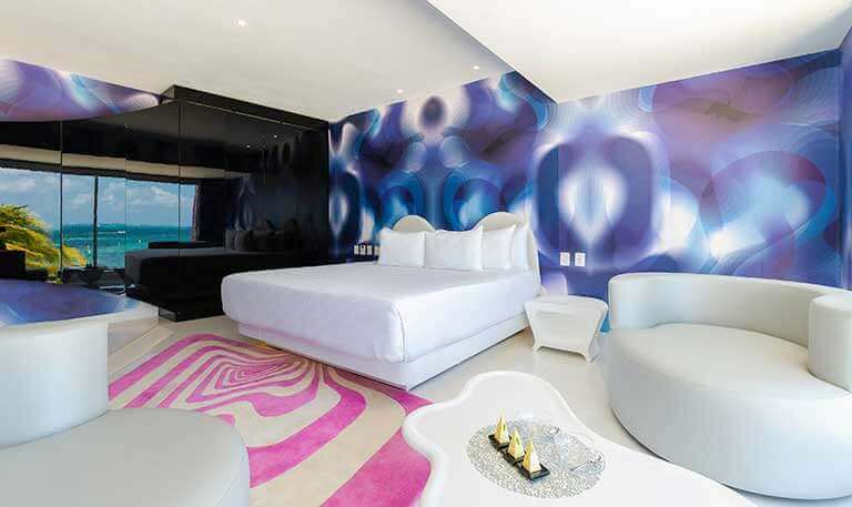 Seduction Beach Front Suite at Temptation Cancun