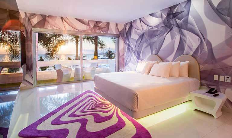 Trendy Ocean View Room at Temptation Cancun